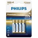 Philips PH PREMIUM ALKALINE AAA 4-BLISTER
