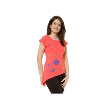 Bluza casual dama Eranthe coral