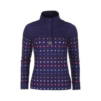 Bluza sport de dama bleumarin cu buline colorate Tom Joules Cowdray