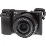 Aparat foto Mirrorless Sony A6000 negru + Obiectiv E SEL 16-50mm f/3.5-5.6 PZ OSS