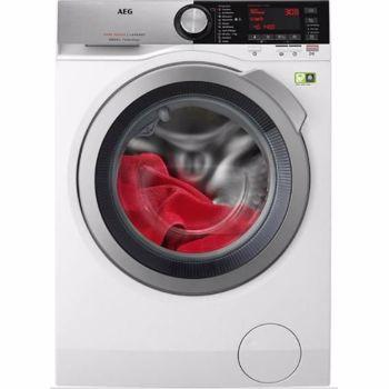 Masina de spalat rufe Aeg L8FEC68S, motor oko inverter, tehnologie pro steam, A+++, 8 kg, 1600 rpm, alb