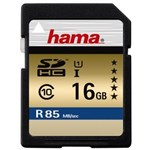 Card memorie Hama SDHC 16GB Clasa 10 UHS-I R85