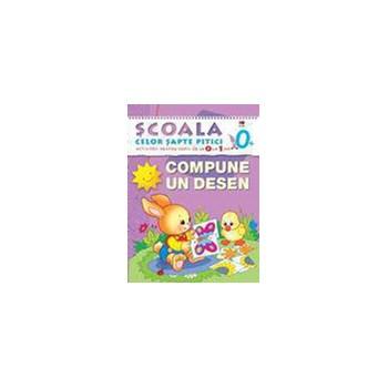 0+ Compune un desen - Activitati pentru copiii de la 0 la 1 an 978-606-600-803-7