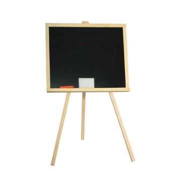 Tablita pentru creta, 83.5x49 cm, cadru lemn, suport fixare, negru