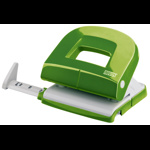 Perforator de birou, pentru maxim 16 coli, verde, NOVUS E216 Fresh