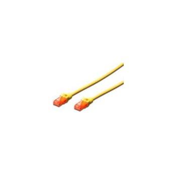 Cablu UTP Digitus Premium Patchcord Cat 6 0.5m Galben