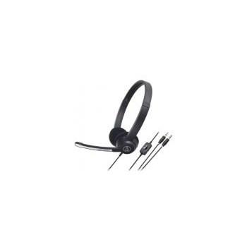 Casti audio cu microfon, Audio Tehnica ATH-330COM, negre