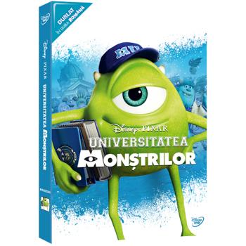 Universitatea Monstrilor - Colectie Pixar O-Ring, DVD
