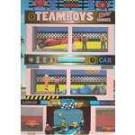 Carti pentru copii / Carte de colorat Masini si Motoare Girasol - Colectia Teamboys