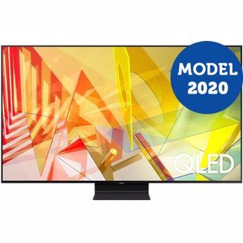 Televizor LED Televizor Samsung 65Q90T, 163 cm, Smart, 4K Ultra HD, QLED, Clasa B