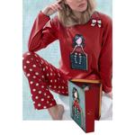 Pijama copii Gorjuss My story in cutie tip carte