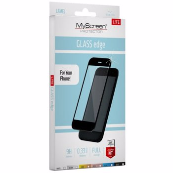 Folie protectie MyScreenProtector FullGlass pentru Samsung J7 2017 Auriu