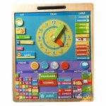 Calendar magnetic în limba română, 023, BigJigs