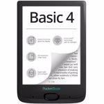 "E-Book Reader PocketBook Basic 4, Ecran E Ink Carta 6"", Procesor 1GHz, 8GB, 256MB RAM (Negru)"