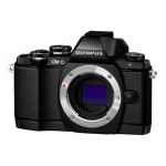 Aparat foto Mirrorless Olympus E-M10, 16 MP Body, Black