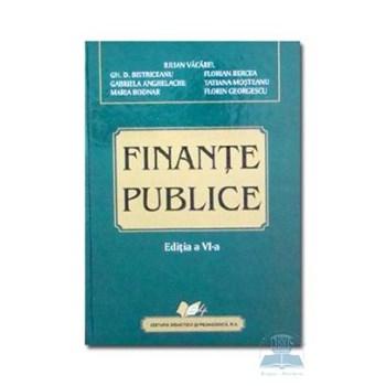 Finante publice - Iulian Vacarel