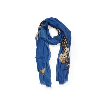 Esarfa dama Louche London albastra