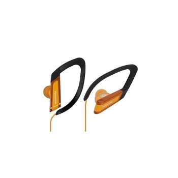 Casti sport Panasonic RP-HS200E-D, rezistente la apa, portocaliu