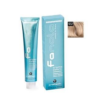 Vopsea Crema Permanenta Fanola 12.2 Blond Superdeschis Platinat Perlat Extra, 100ml