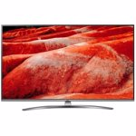 Televizor Led LG 138 cm, 55UM7610PLB, Ultra HD 4K, Smart TV, WiFi, CI+, Argintiu