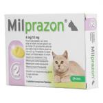 Milprazon Pisica 4 / 10 mg (< 2 kg), 2 comprimate