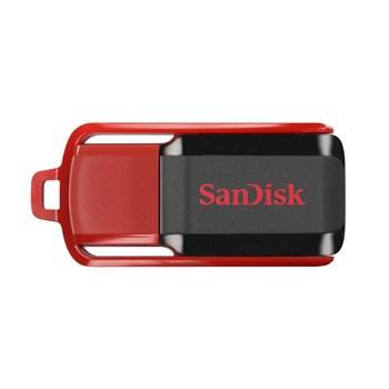 Memorie externa SanDisk Cruzer Switch 16GB USB 2.0 negru rosu