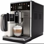 Espressor automat PicoBaristo Deluxe SM5573/10, Carafa lapte integrata, 13 selectii, 5 setari intensitate, Rasnita ceramica 12 trepte, AquaClean, 1.7l, Negru/Inox
