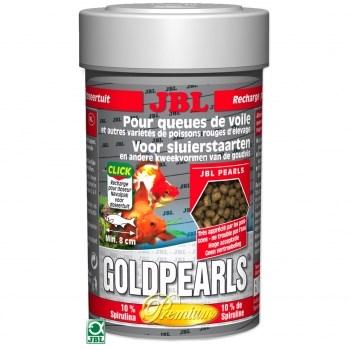 Hrana pentru pesti JBL GoldPearls, 250 ml