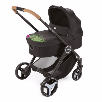 Carucior 3 in 1 Chicco Trio Best Friend Light, Optical Jungle, 0luni+