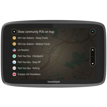 "Sistem de navigatie TomTom GO Professional 6250, Ecran 6"", 16 GB, Bluetooth, Wi-Fi, Harta Full Europe"