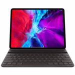 """Husa Apple Smart Keyboard Folio mxnl2z/a pentru tableta iPad Pro 12.9"""" gen4, Layout INT (Negru)"""