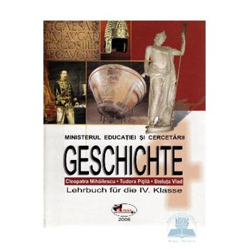 Manual istorie Clasa 4 lb. Germana - Tudora Pitila, Cleopatra Mihailescu