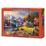 Puzzle 1500 Castorland - Mountain Hideaway