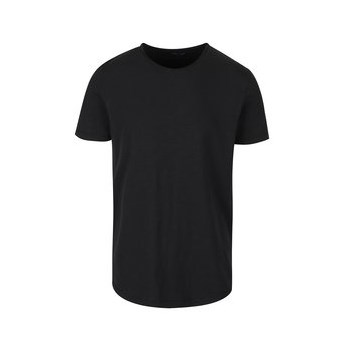 Tricou negru Selected Homme Raw din bumbac