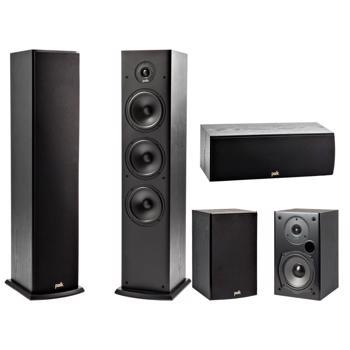 Sistem Boxe Polk Audio T50+T30+T15 Negru