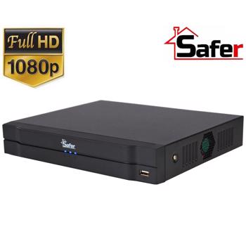 DVR 8 canale SAFER, Pentabrid, 5MP-N, 1 x HDD, SAF-8X-1080
