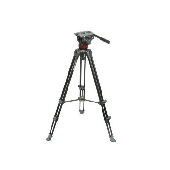 Manfrotto MVK502AM - Kit video telescopic twin legs (MVA502A + MVT502AM)