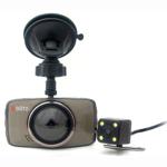 Camera auto DVR Xblitz Dual Core  Full HD  unghi de filmare 170 de grade  senzor G
