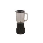 Blender de masa Zass ZSB 10 BL Black Line, 500W, Vas din sticla termorezistenta de 1,5L , 5 trepte de viteza cu functie Pulse, cutit cu 4 lame din inox