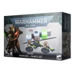 Set pentru Pictarea Miniaturilor Warhammer 40.000 Necrons