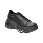 Pantofi FLAVIA PASSINI negri, 881011, din piele naturala