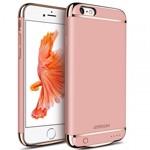 Husa Baterie Ultraslim iPhone 6/6s, iUni Joyroom 2500mAh, Rose Gold
