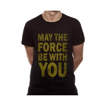 Tricou Star Wars - May the Force be with You XL