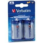 Acumulator Verbatim Premium, 2x D LR20 blister