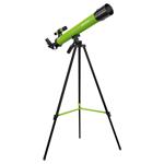 Telescop refractor Bresser Junior 45/600 AZ, putere marire 100x, Verde