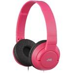 Casti Stereo JVC HA-S180, Jack 3.5mm (Rosu)