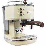 Espressor manual De'Longhi Vintage ECOV311.BG, 1100W, 15 bar, 1.4 l, Crem