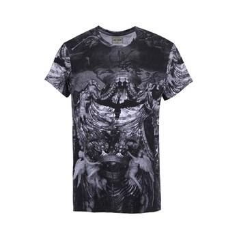 Tricoul cu imprimeu pentru barbati Eleven Paris Hoky - gri inchis