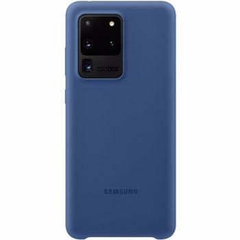 Husa de protectie Samsung Silicone Cover pentru Galaxy S20 Ultra, Navy