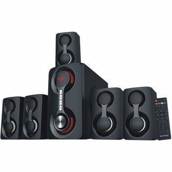 Sistem audio Serioux SoundRise 5.1, 105W, Bluetooth, Negru